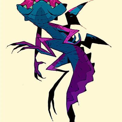 Satoshi matsuura 2019 08 27 evil salamander s