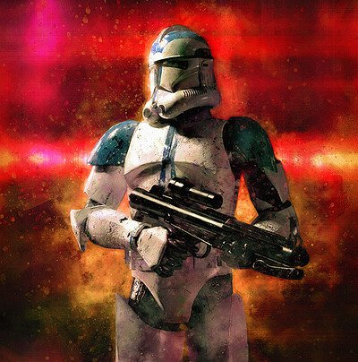 Luca oleastri clone trooper low