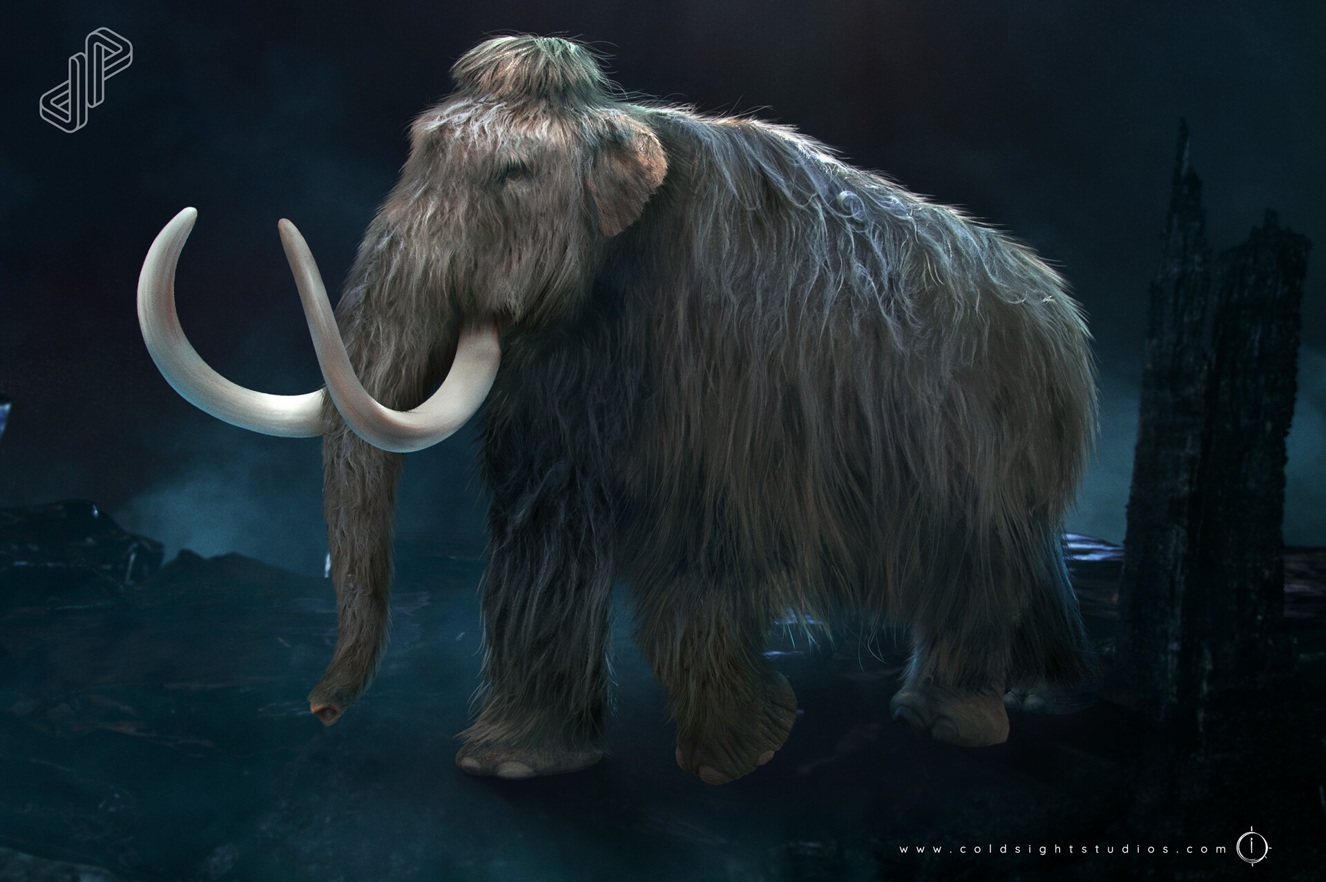 Mammoth, the background is from Steven Azancot