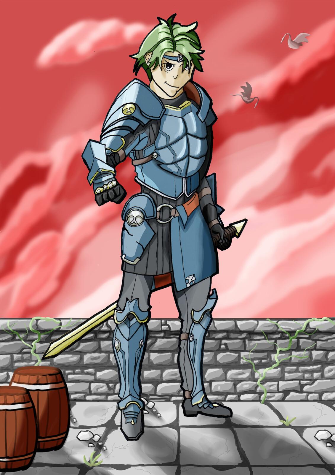 Un personnage de Fire Emblem / A Fire Emblem Hero