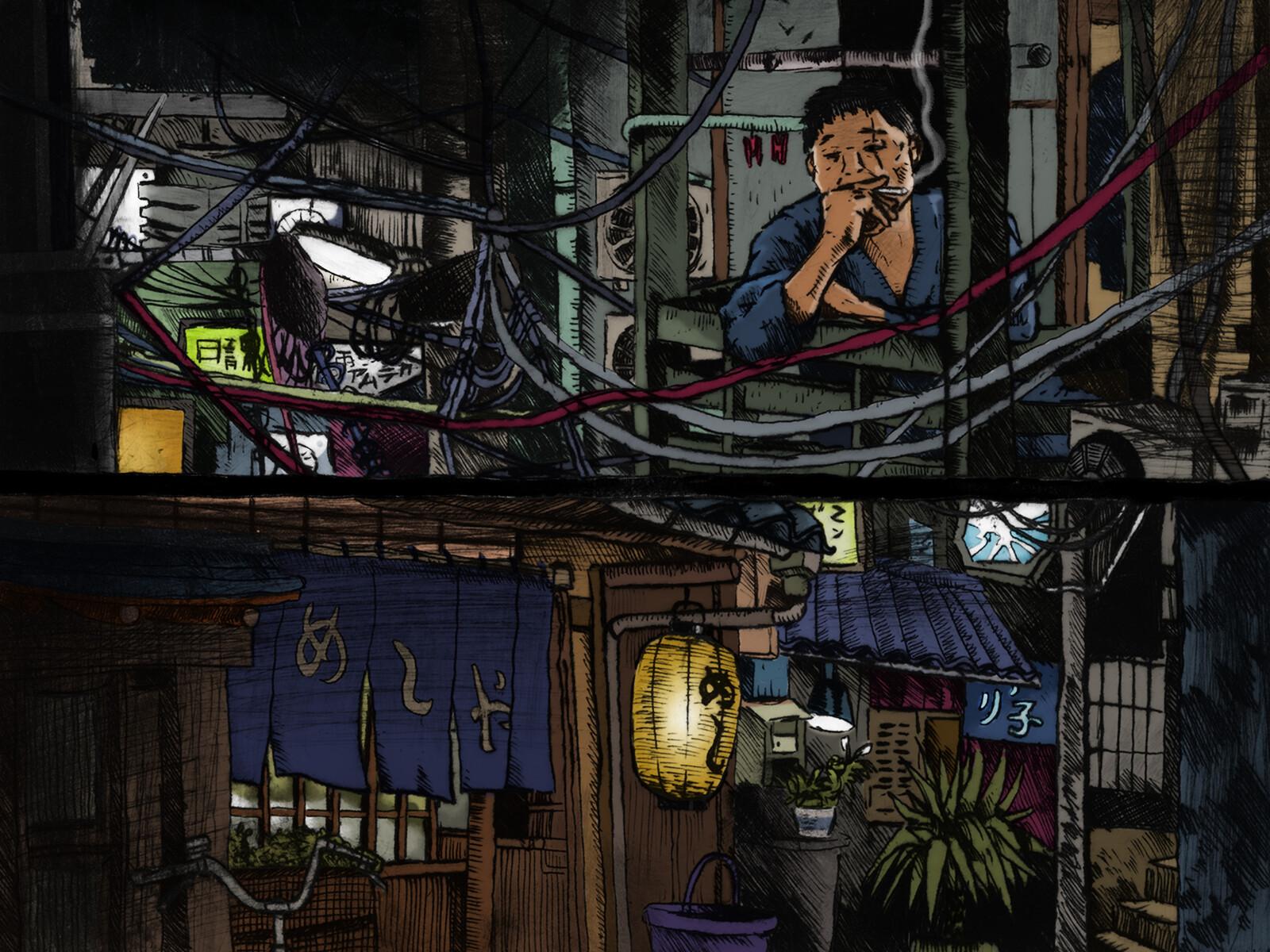Midnight diner tokyo stories - Fan Art