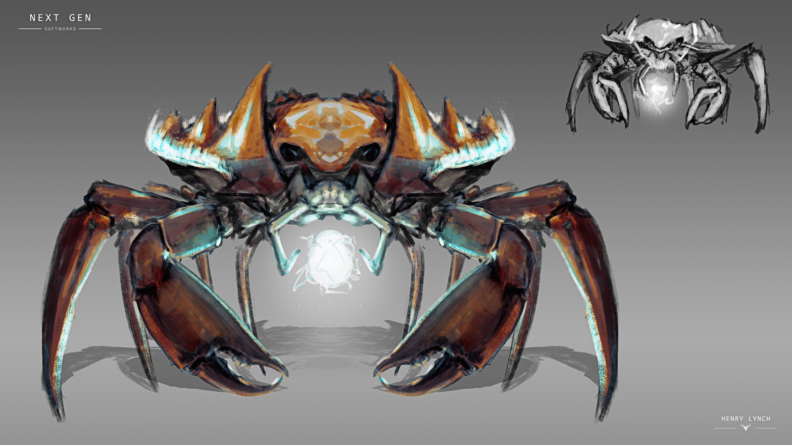 Creature Concepts For Next Gen Softworks