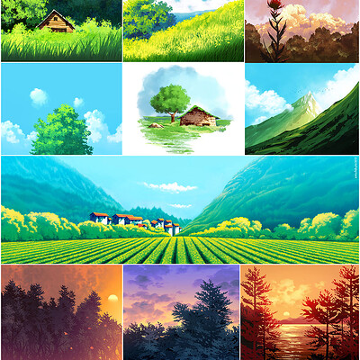Emrullah cita some my ghibli works