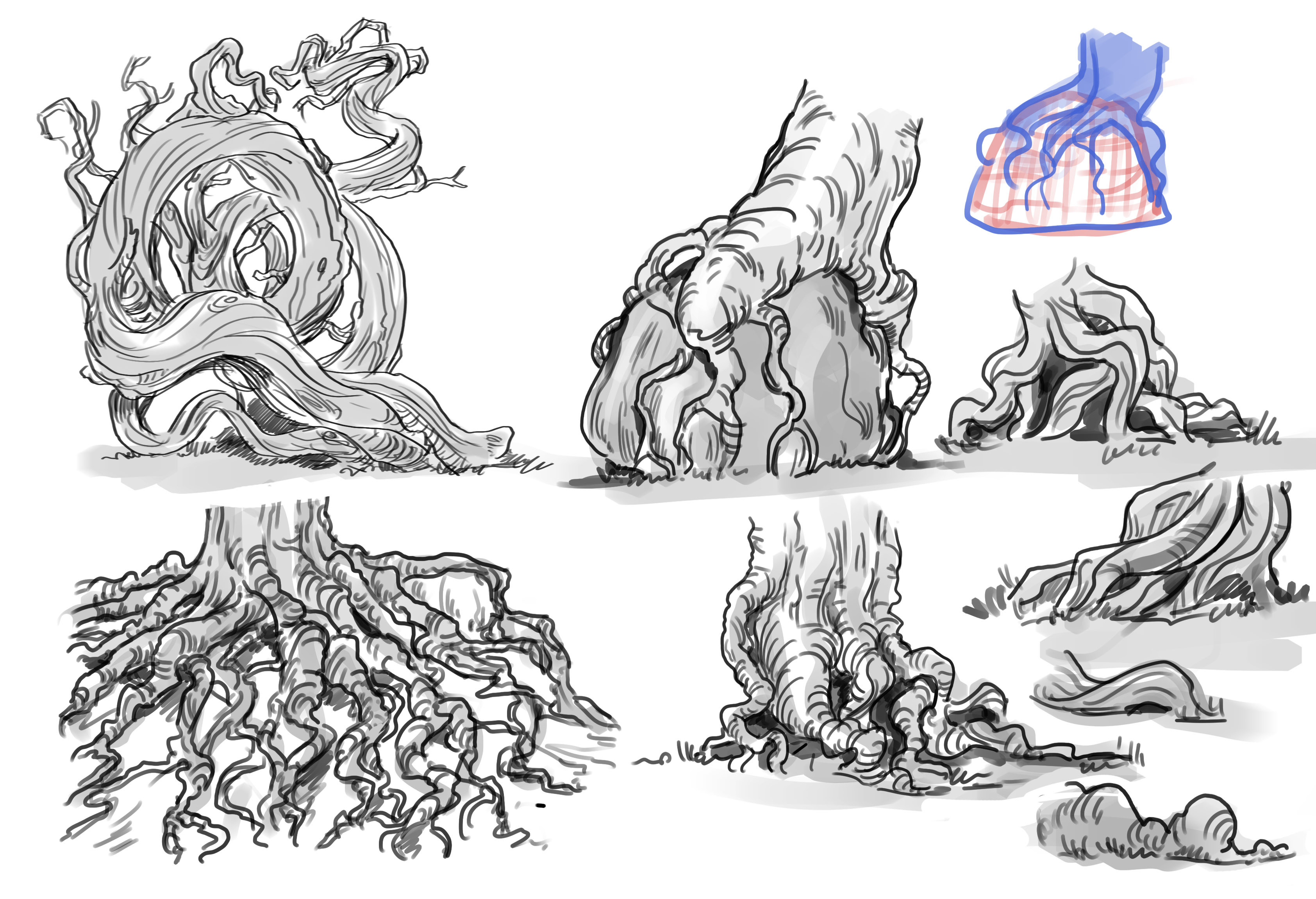Root studies (with Etherington brothers ref) to get warmed up