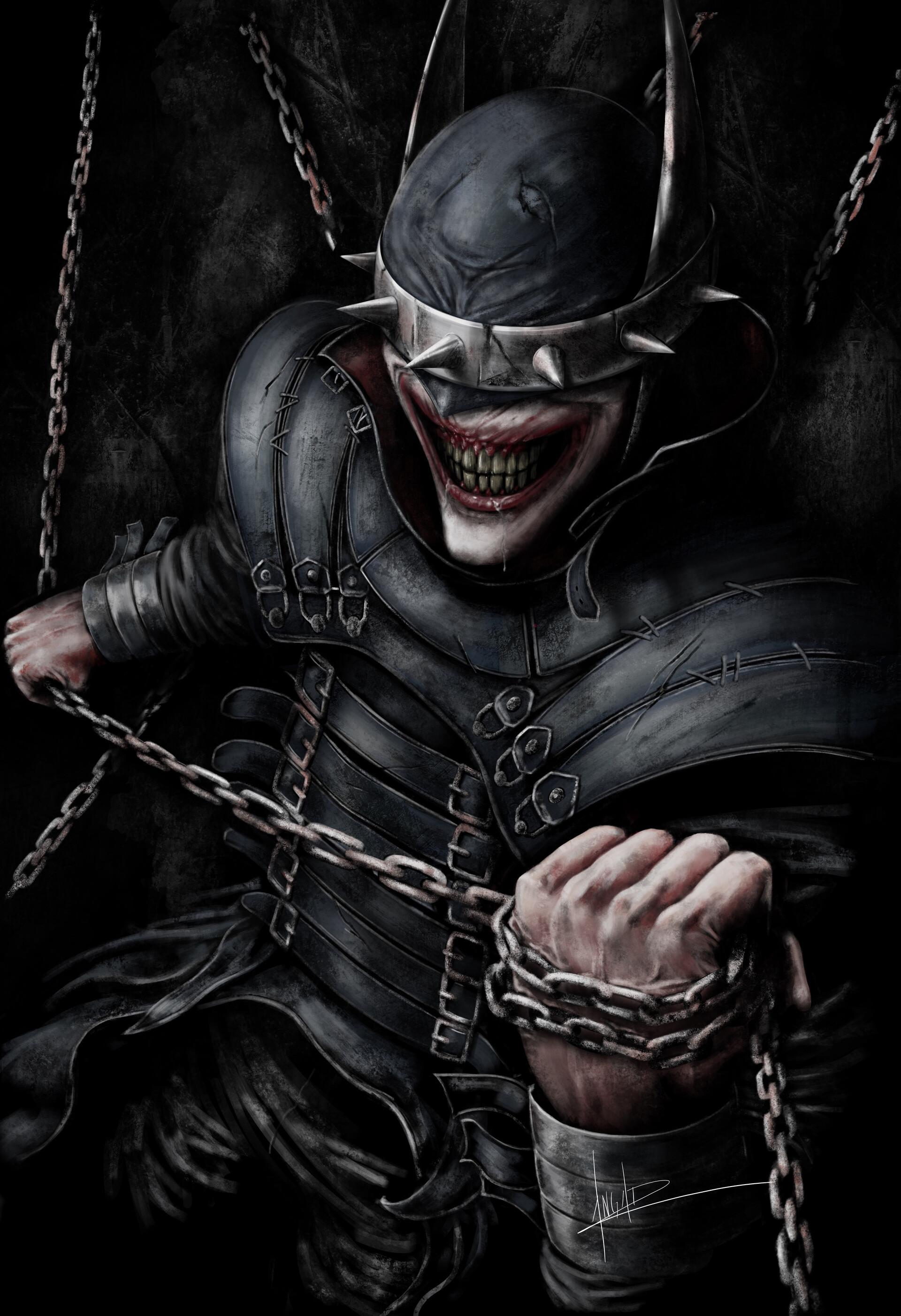 Psychology of Bruce Wayne Emmanuel-andrade-batmanlaughs-f