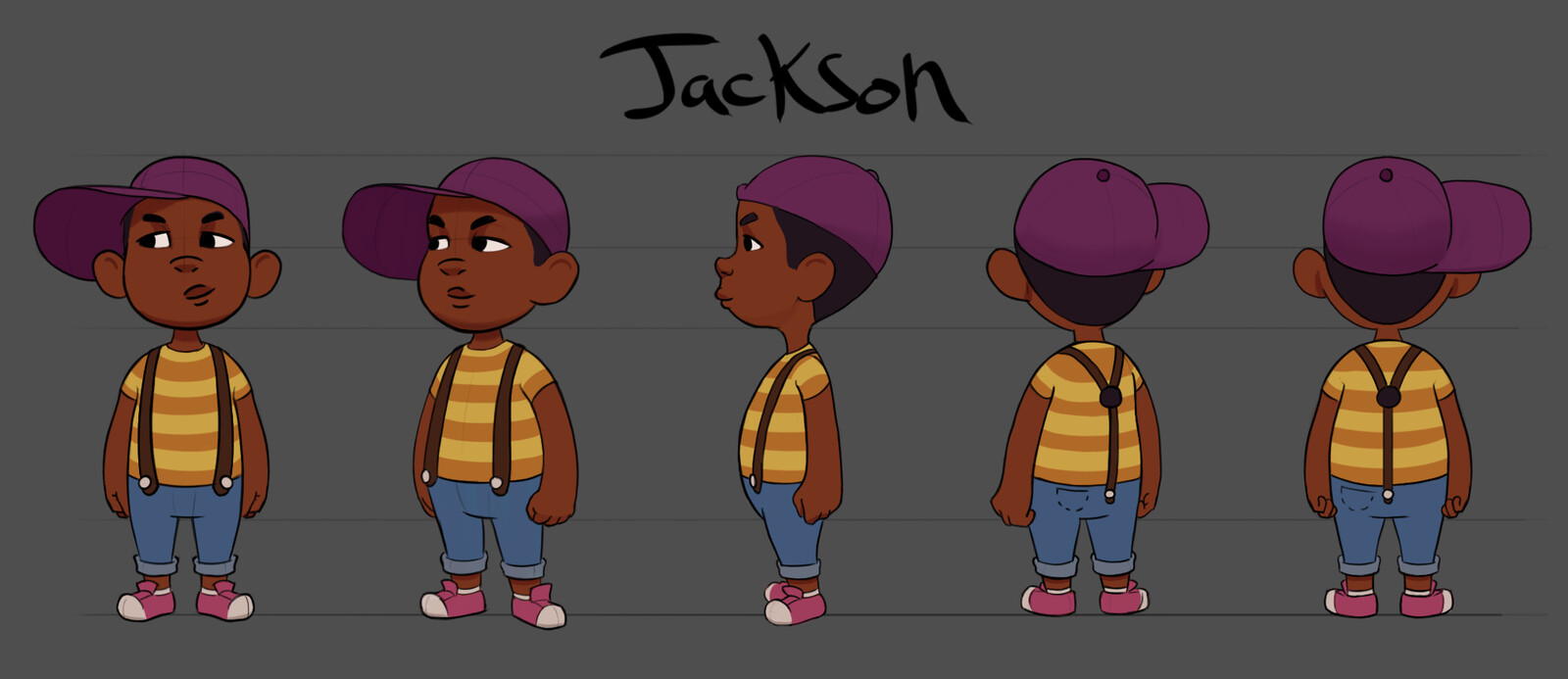 Jackson character turn around