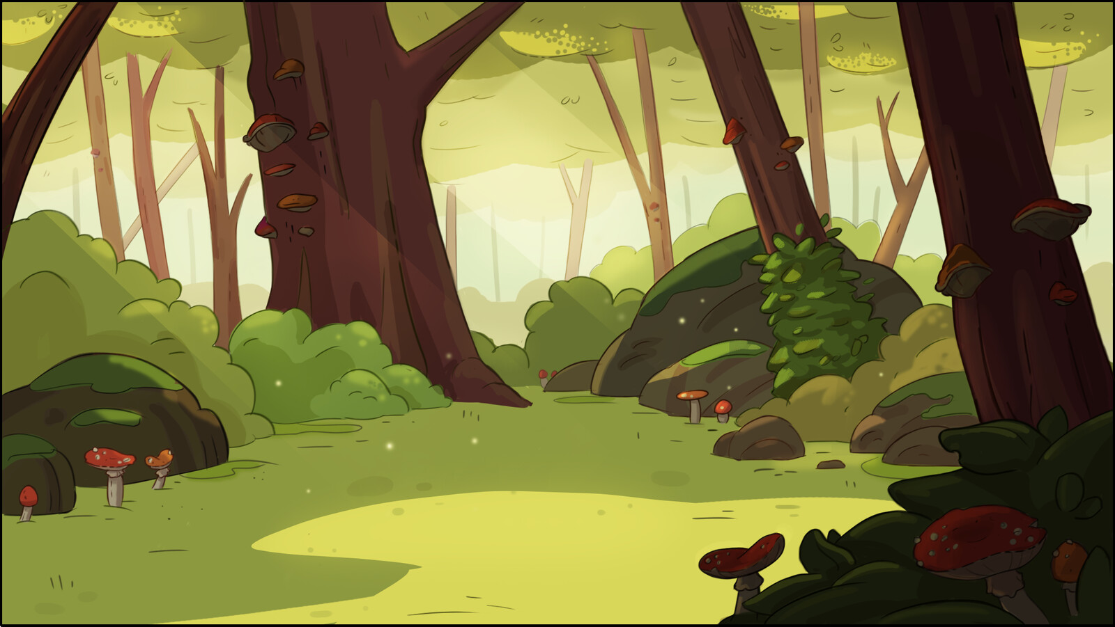 Forest BG + Process