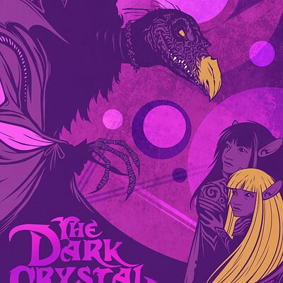 Chris ables dark crystal poster