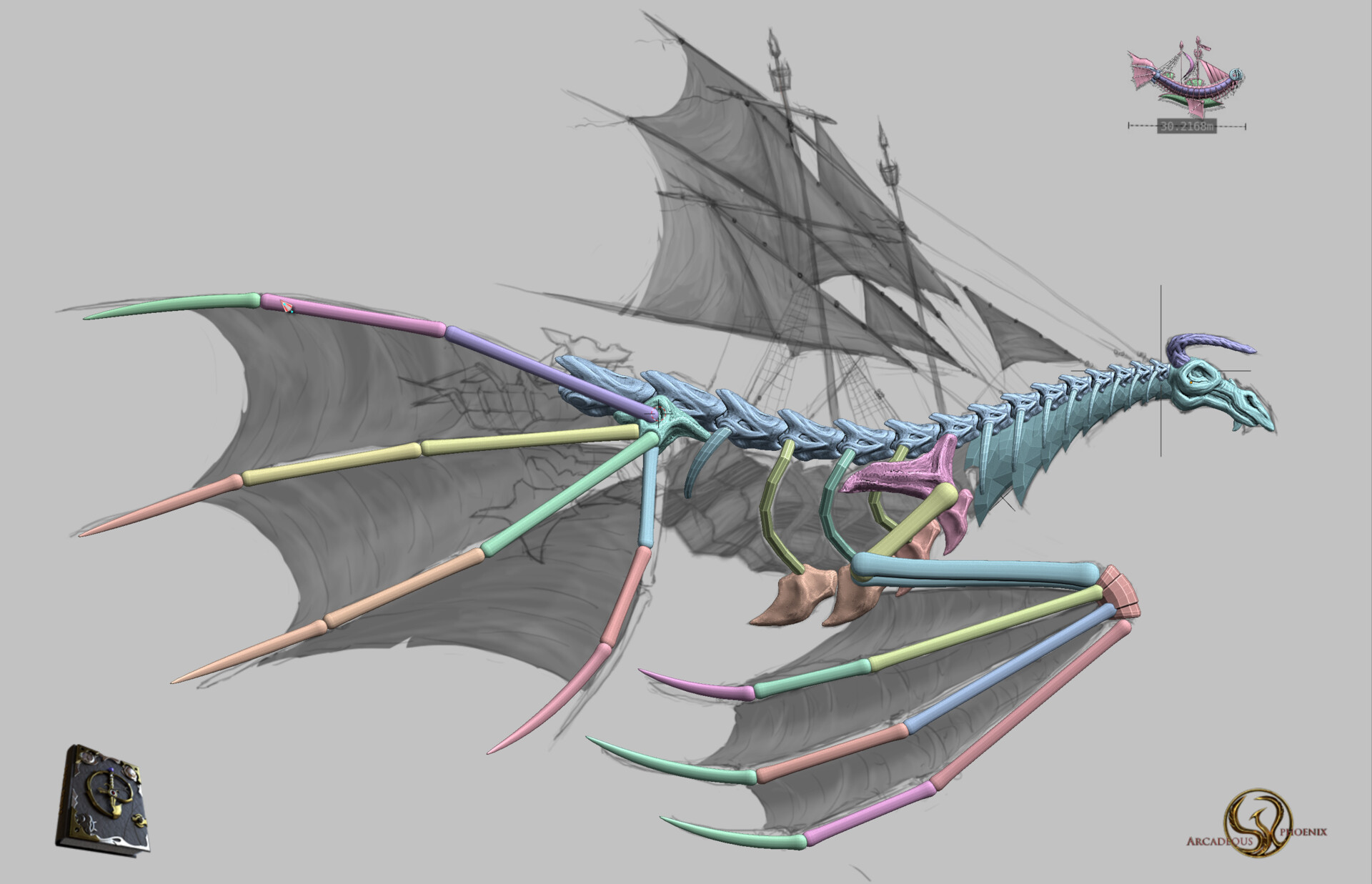 Arcadeous phoenix ww1