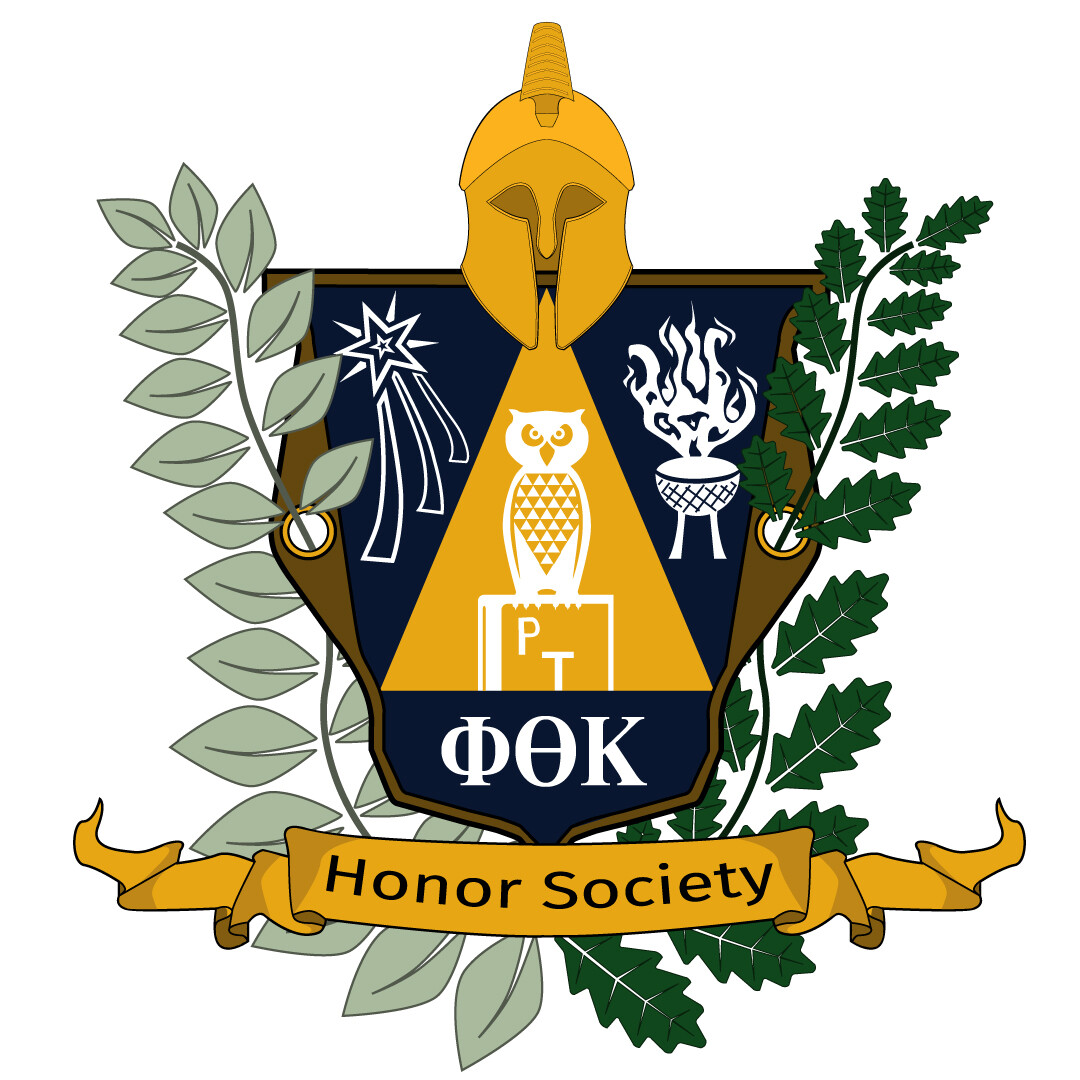 Final version of the newly created PTK crest