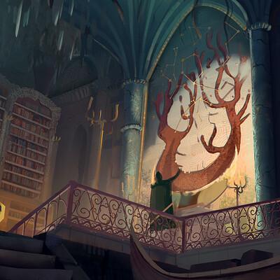 Arthurian Legend- Artstation Challange