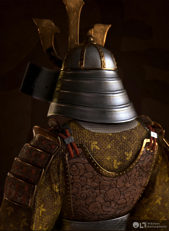 Nikolaos kaltsogiannis samurai bust 02