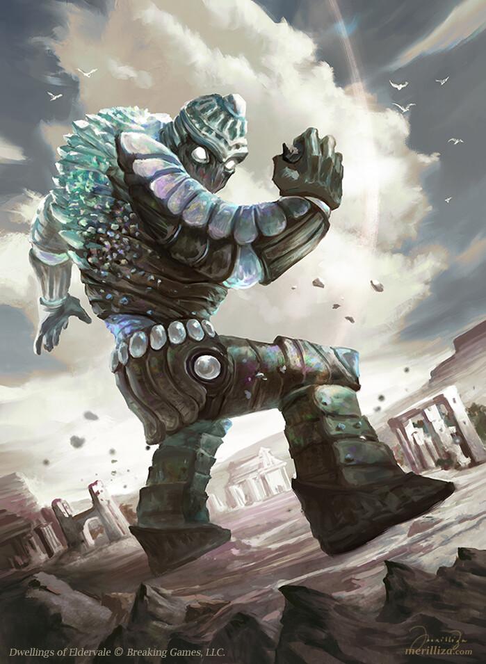 Iron Golem Fantasy Art