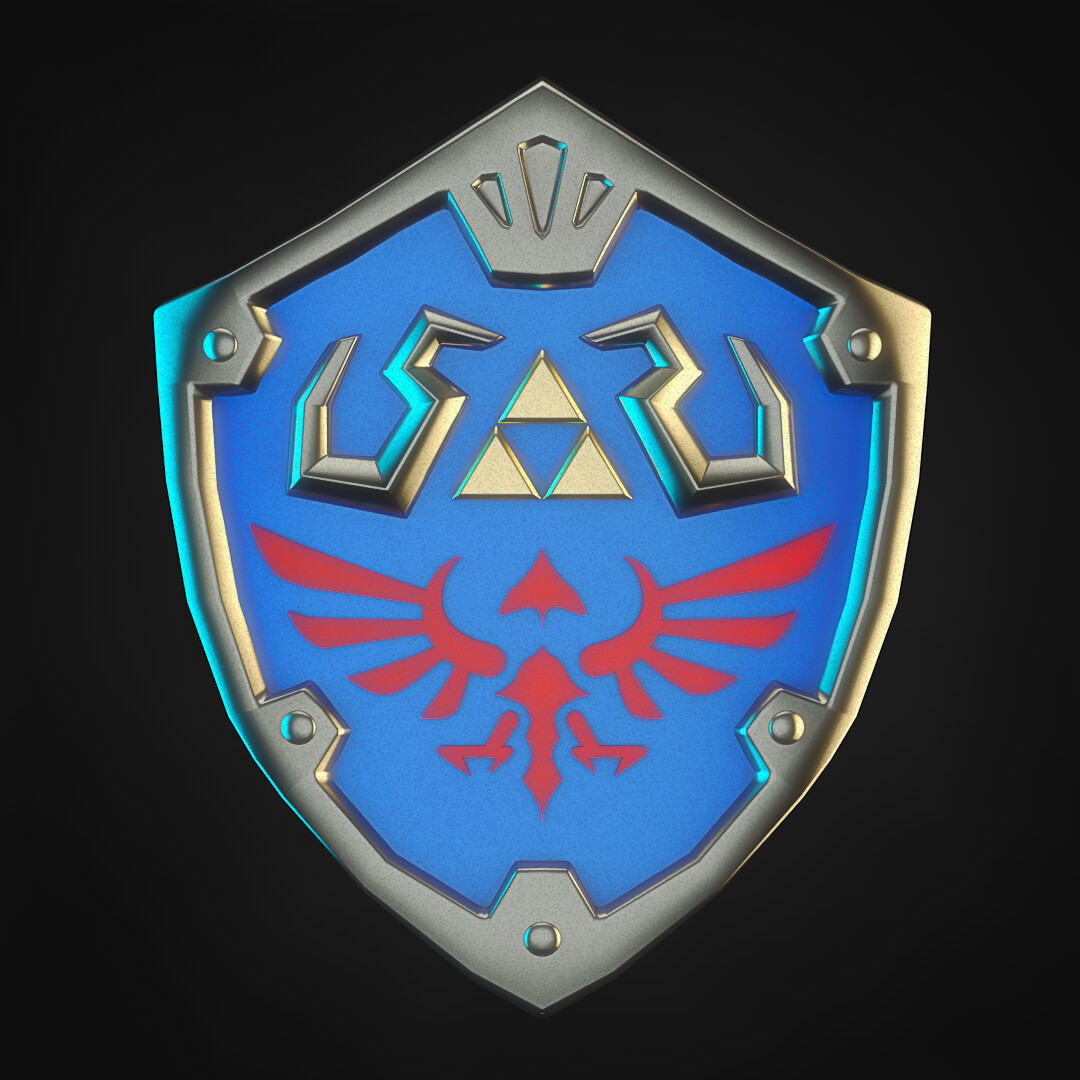 Felipe blanco hylian shield 02