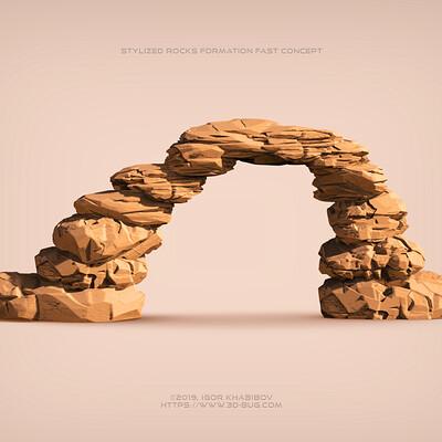 Igor khabibov rocks formation