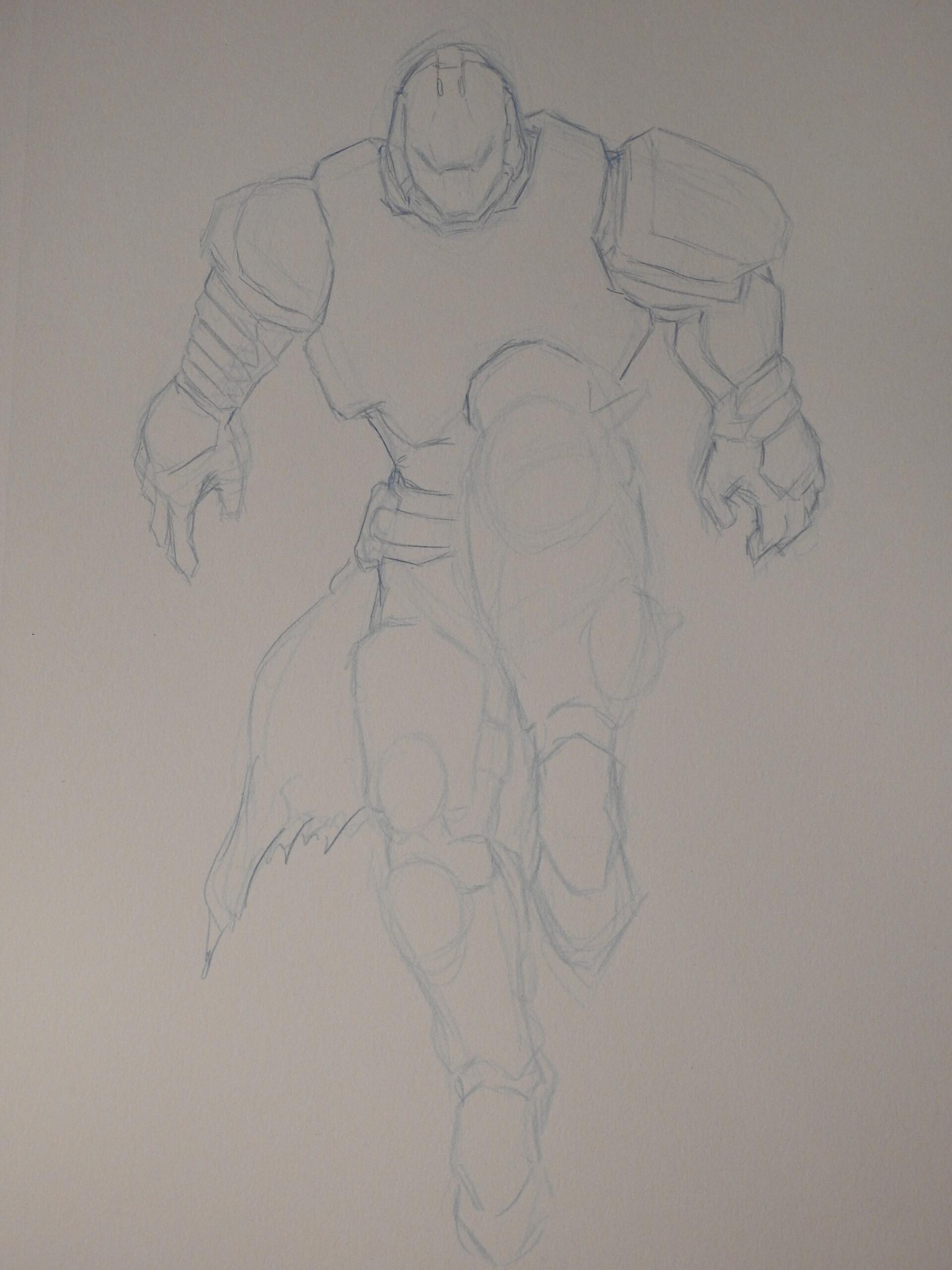 Josh Bolin - Man At Arms Peregrine Greaves!