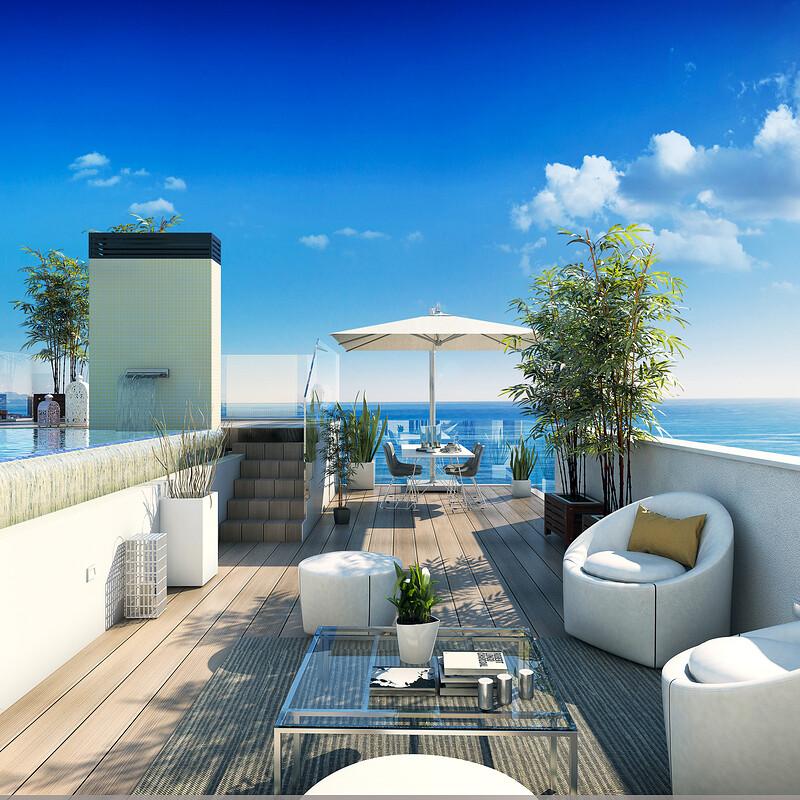 lantia penthouse terrace