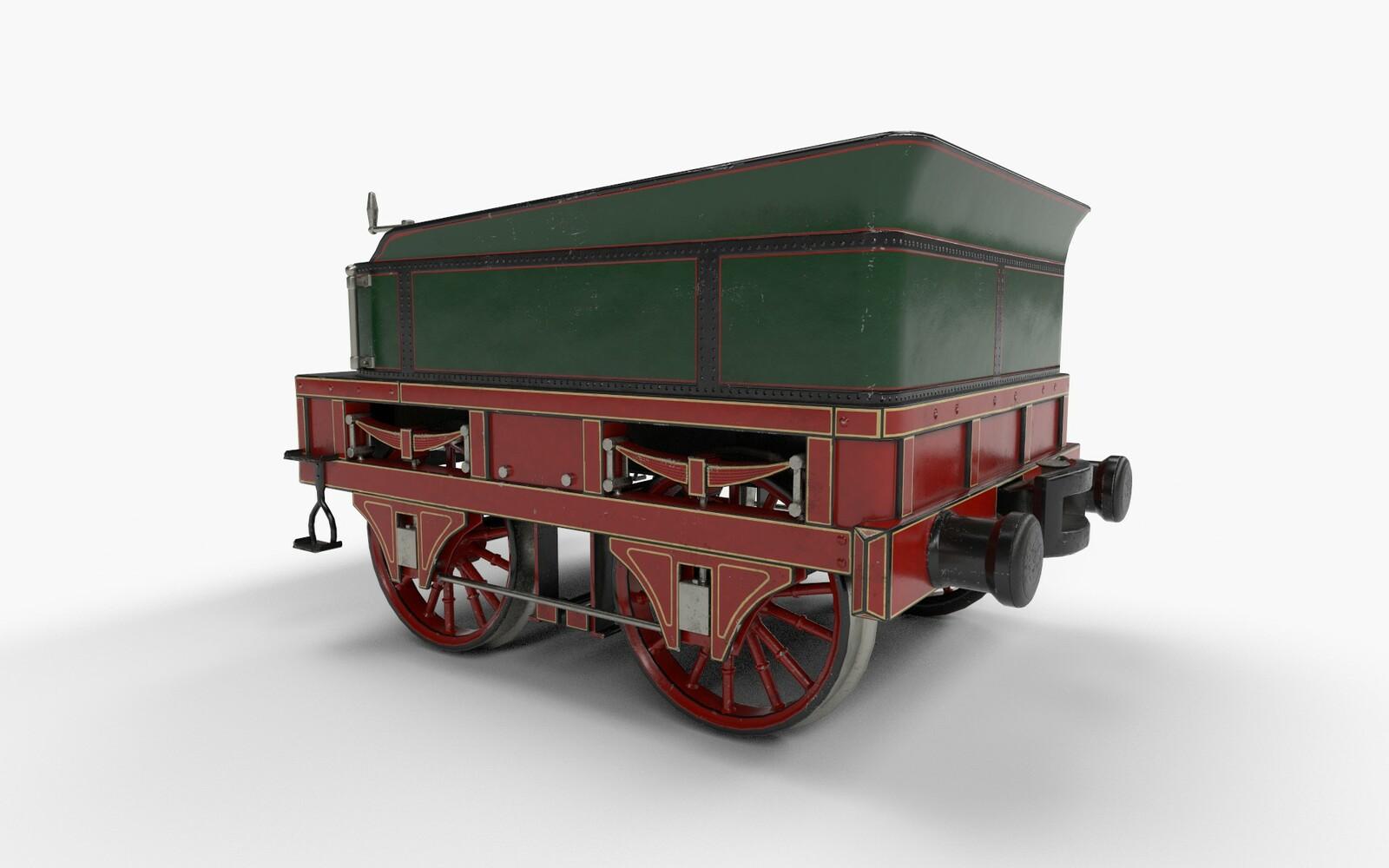 Adler Tender (historical train)
