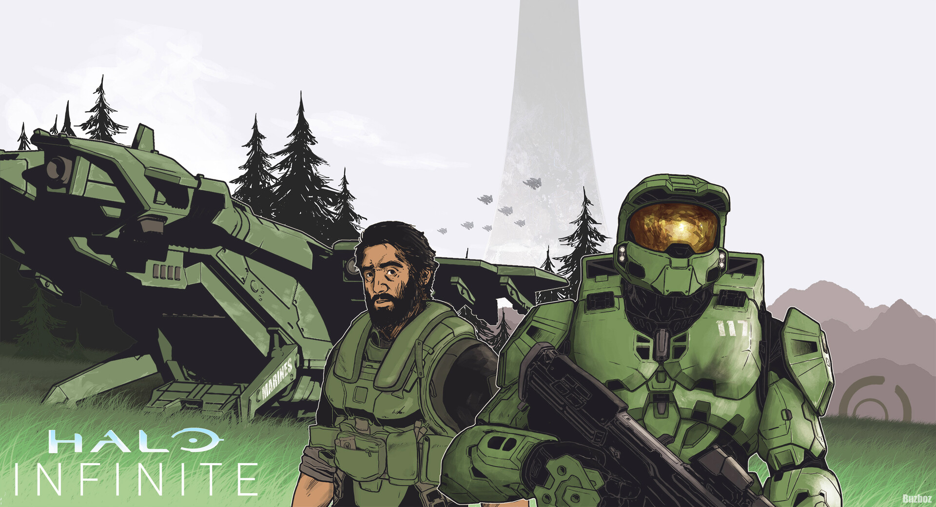 Download Halo Infinite Background  Wallpapers
