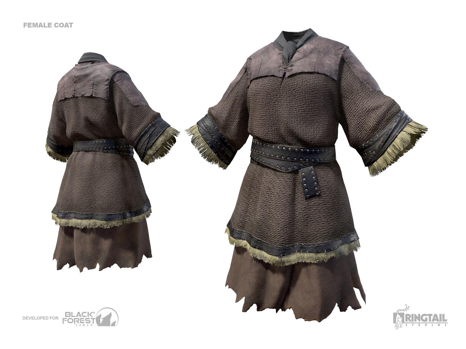 Female Attachment Coat