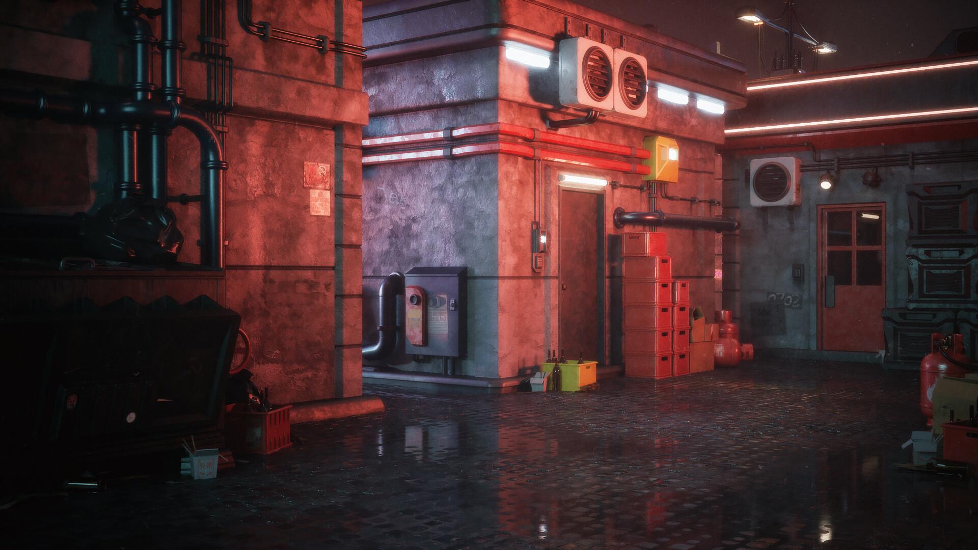 ArtStation - Kitbash3d Cyber Streets, Mike Golden