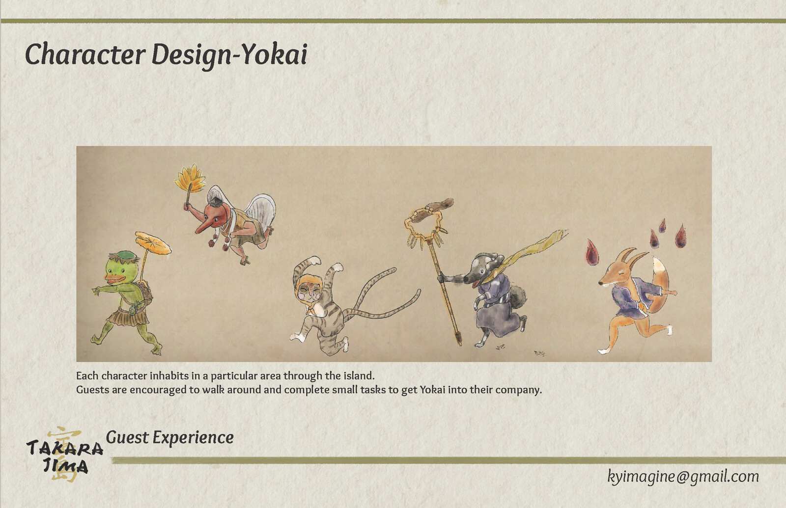 About Yokai