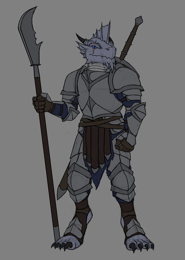 Christian hadfield silver dragonborn fghter update 1 5