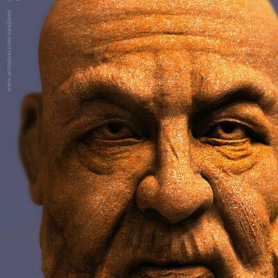 Surajit sen the man digital sculpture surajitsen aug2019