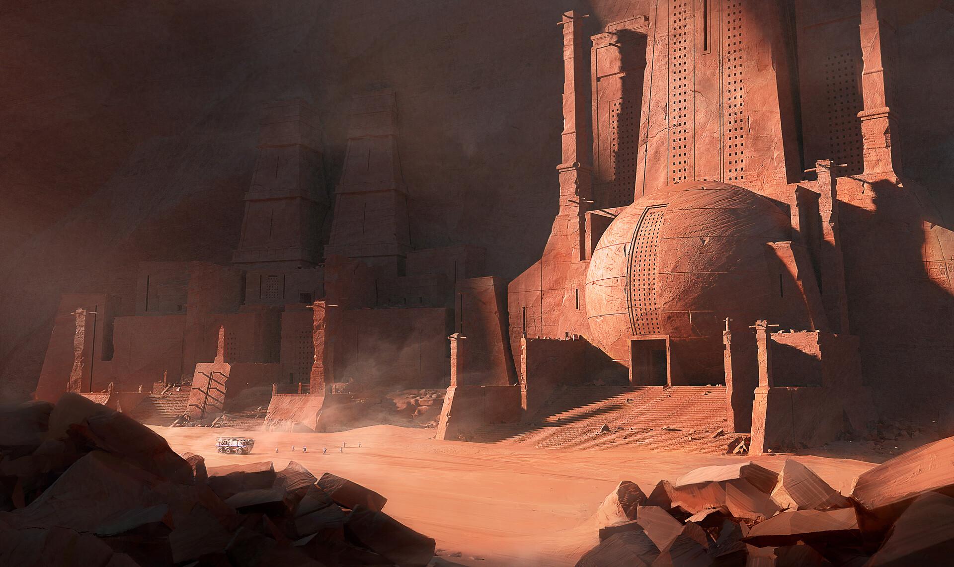 Wojtek kapusta ancient mars