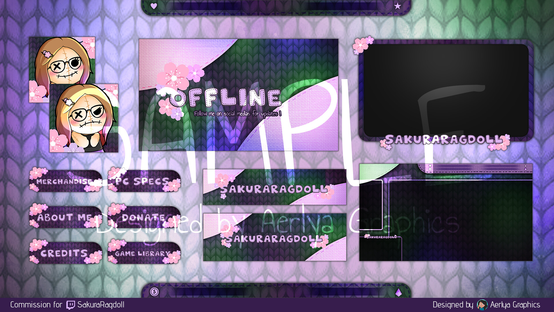 Aerlya graphics sample sakuraragdoll