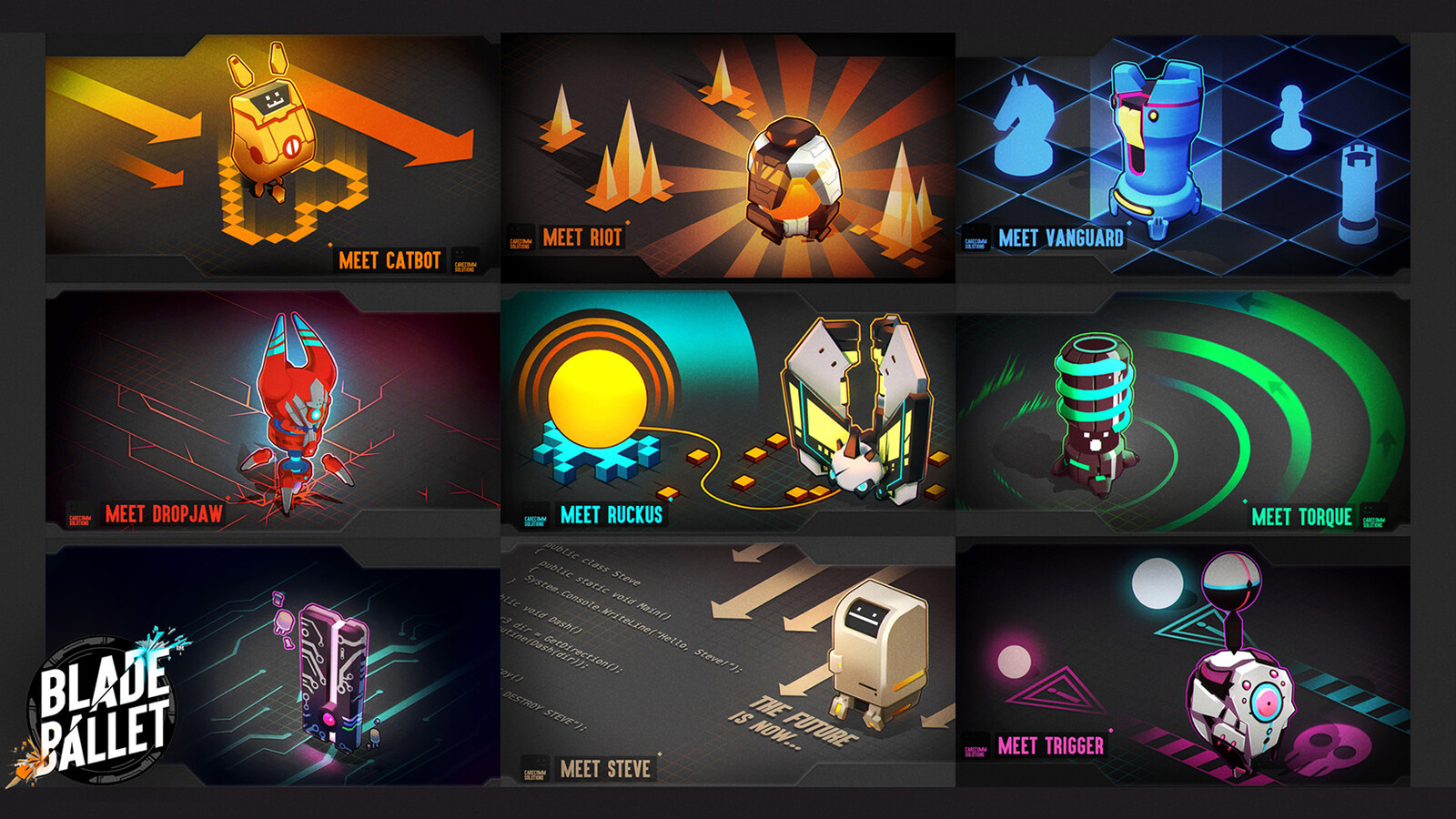 Steam cards I produced