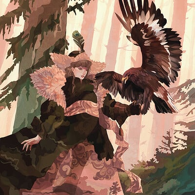 Joanna grodecka eagle hunt sm