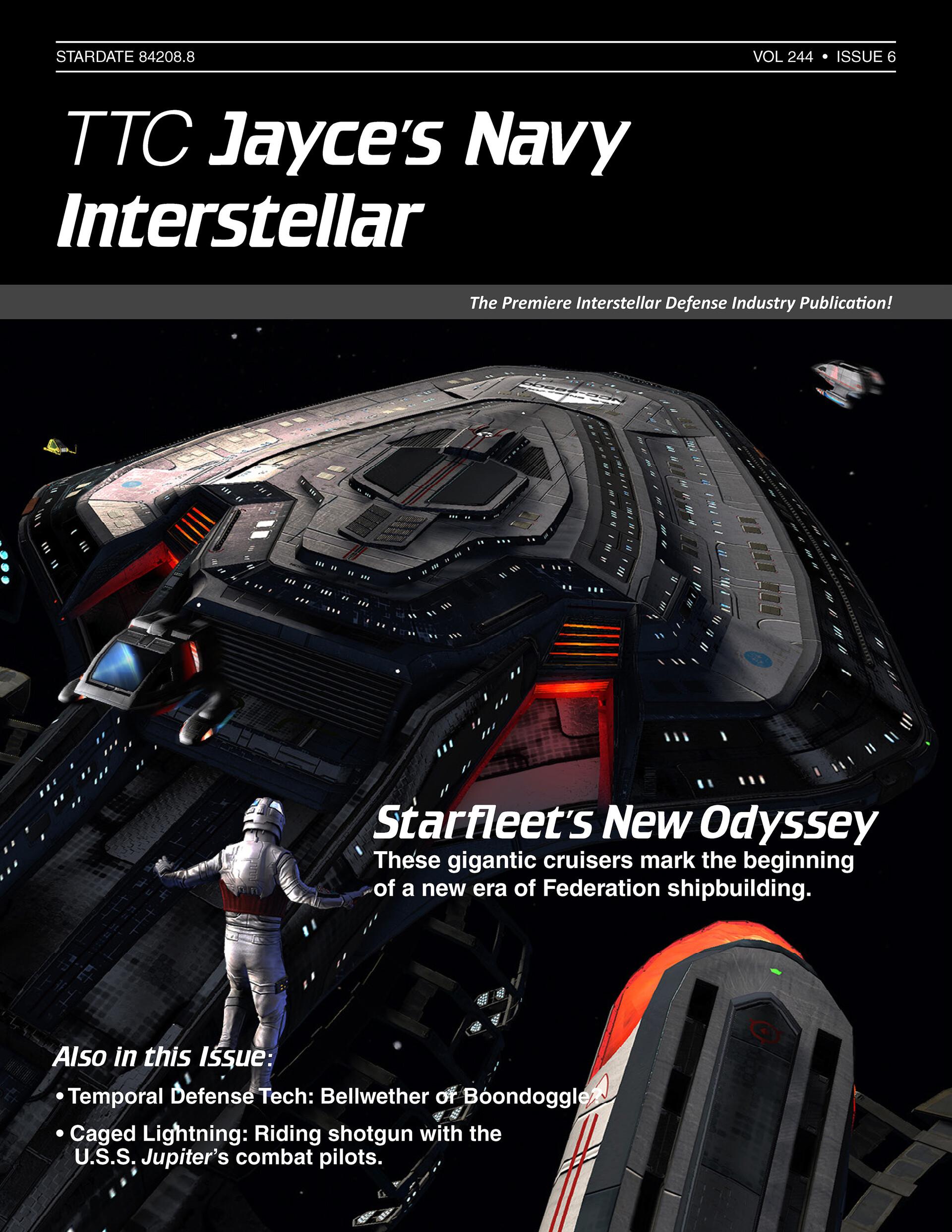 Thomas marrone jayce article starfleets new odyssey cover
