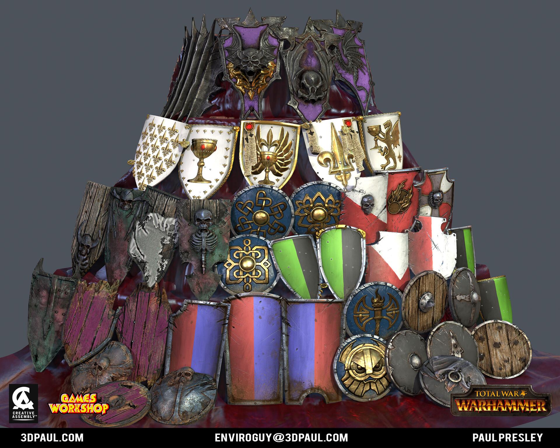 Paul presley ca empire 12 shields