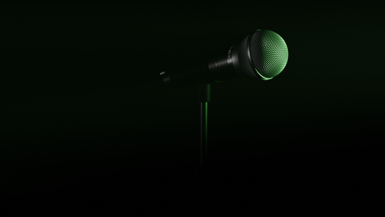 Microphone - 2 Lights