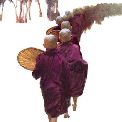 Joon ahn monks 02