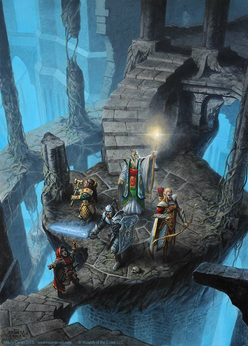 "- ""Dungeons Explore"", Milivoj Ćeran 2013.