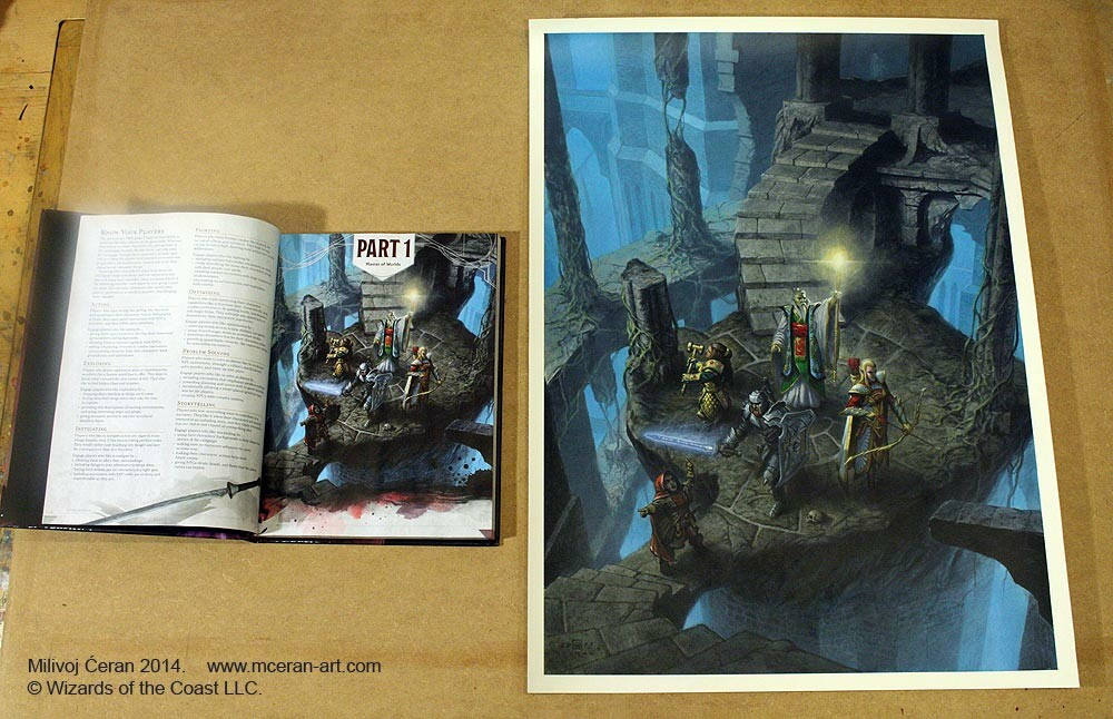 """Dungeons Explore"",