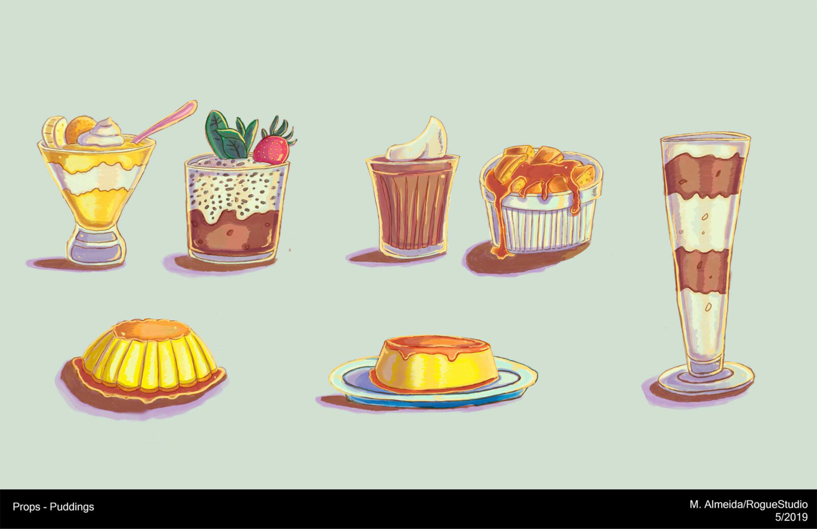 Pudding Props