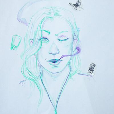 Agnieszka blaszczak aga b3 autoportrait