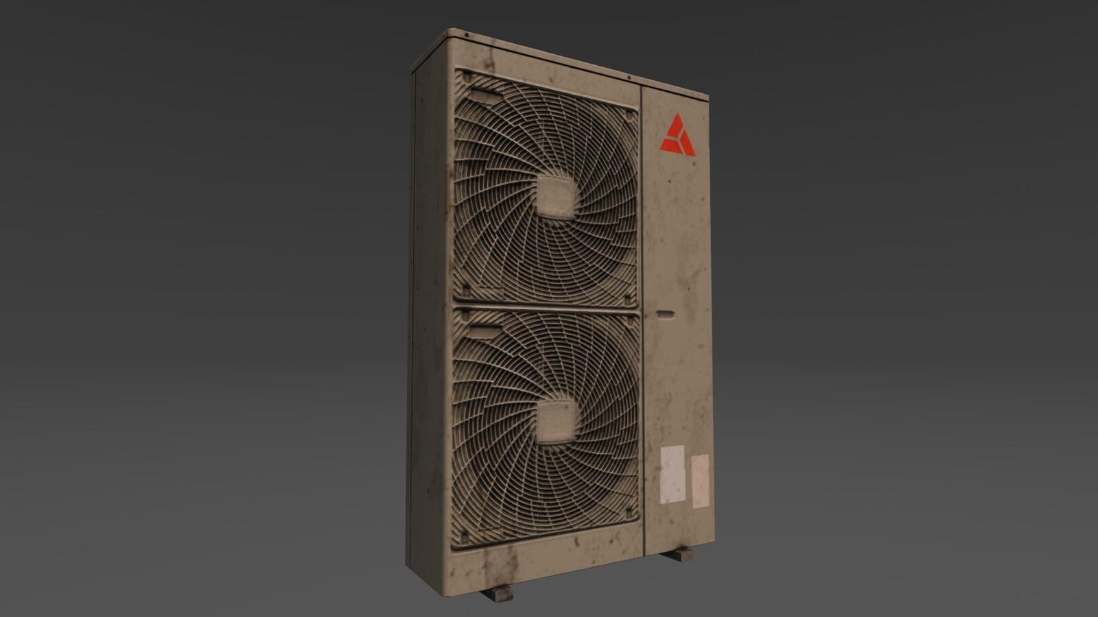 Model 3 - big air conditioner