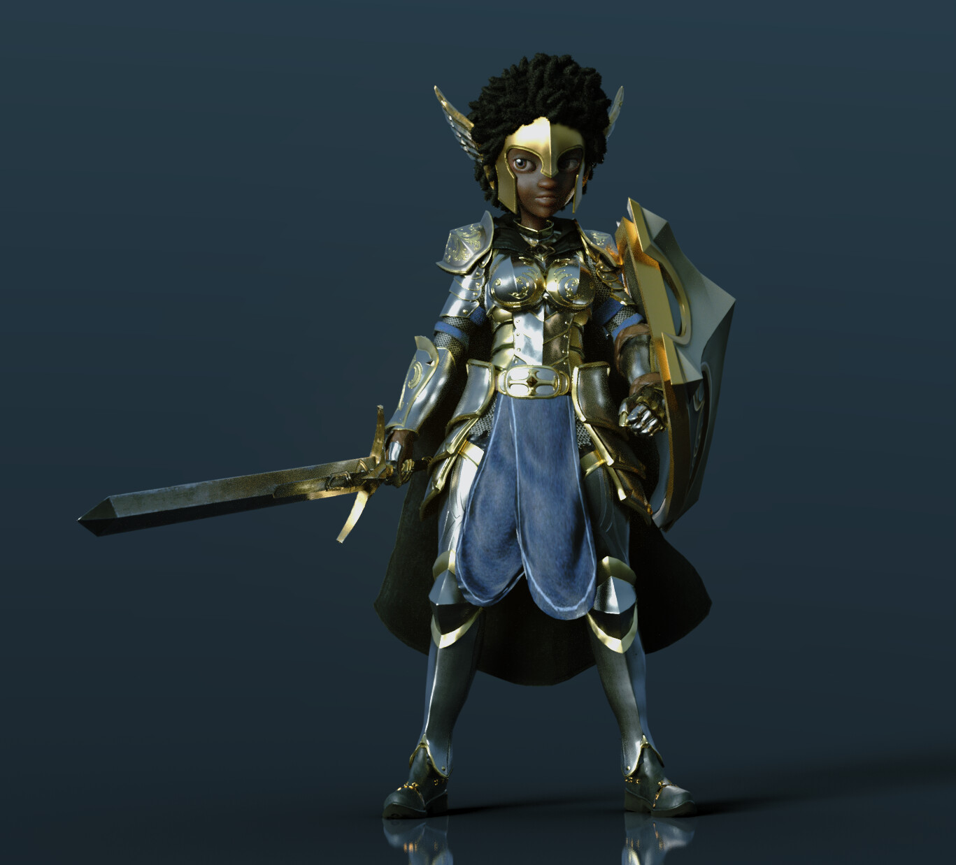 Fantasy Playset Paladin Showcase 04