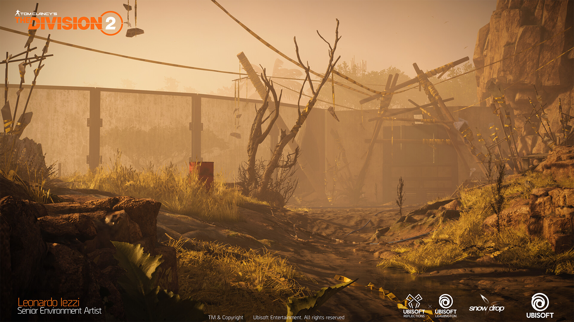 Leonardo iezzi leonardo iezzi the division 2 zoo environment art 06 lion 004