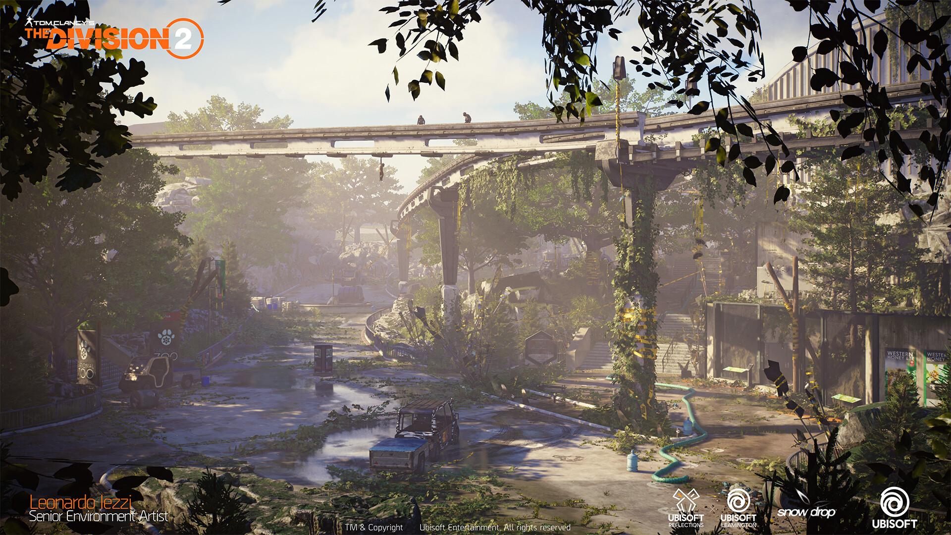 Leonardo iezzi leonardo iezzi the division 2 zoo environment art 01 valley 001