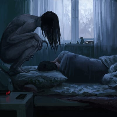 Stefan koidl daily creepy painting 24