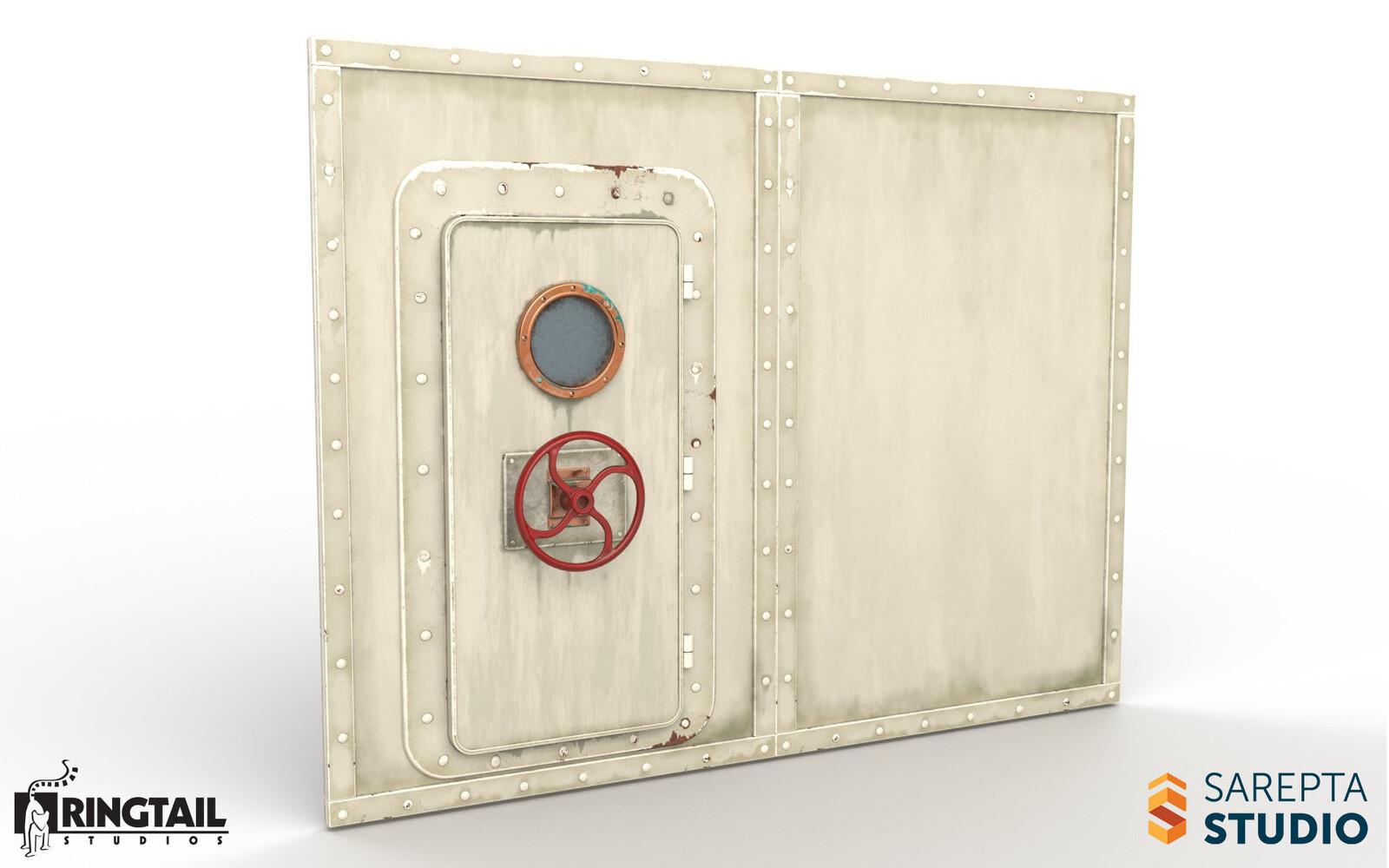 Crankwheel Door