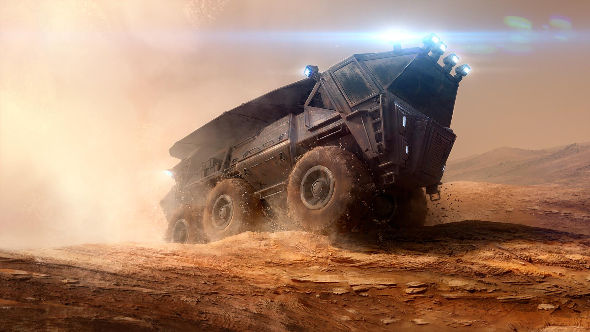 Wojtek kapusta conqueror mars vehicle main hd