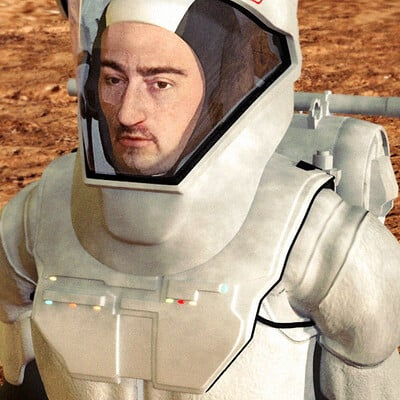 Luca oleastri mars mission firma