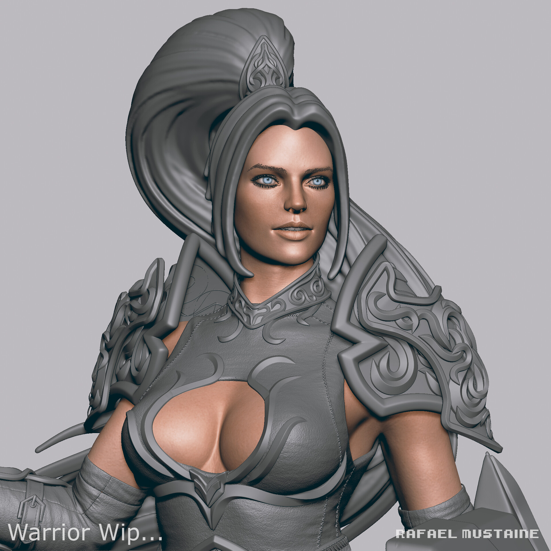 Warrior Concept art - Wip