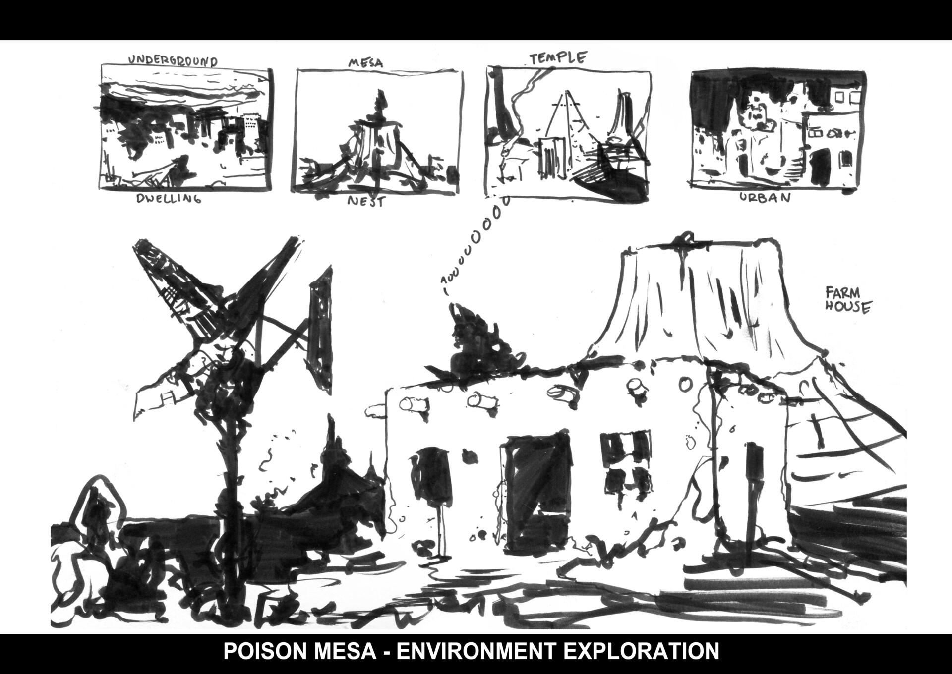 Christian herman pm environment sketches 01